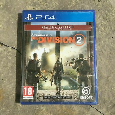 Tom Clancy's The Division 2 Limited Edition (PS4, 2019) NEW - STILL SEALED!