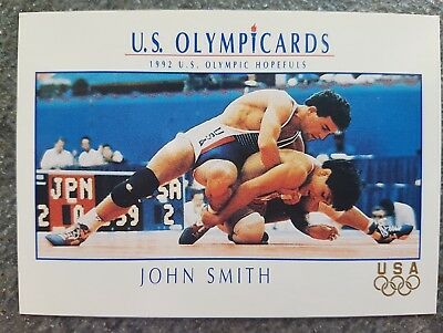 US Olymp Cards John Smith OS 1992 Nr. 108 Trading Card