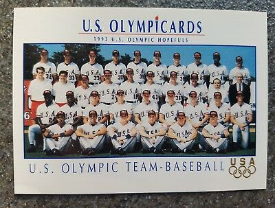 US Olymp Cards Baseball Team OS 1992 Nr. 7 Trading Card