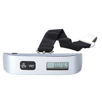 50kg*10g Electronic Portable Travel Digital Luggage Scale LCD Display E3K3