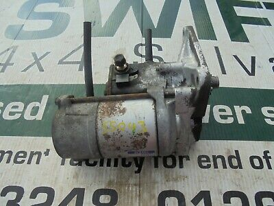 Land Rover Discovery 2 Td5 Starter Motor Denso Nad101240 #Ss043