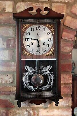 Vintage 'Lava' 31-Day Striking Wall Clock