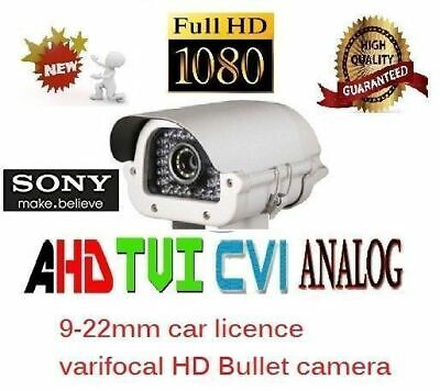 new 4 in 1 4MP License Plate Long Range CCTV Security Camera AHD TVI
