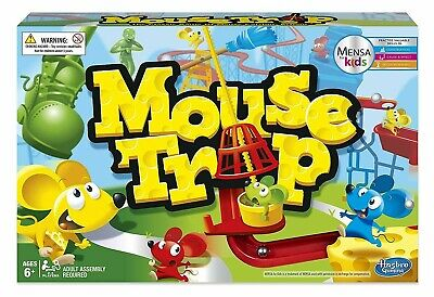 Mouse Trap Board Game - The Crazy Game with 3 Action Contraptions Kids Play Set
