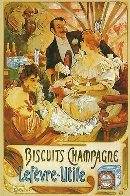 Huntley and Palmers Biscuits Advert Vintage Retro style Metal Sign,