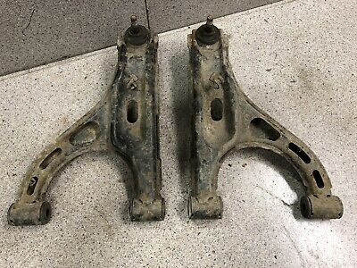 02-08 Yamaha Grizzly 660 Front A Arm Control Arms Good Ball Joints 2032