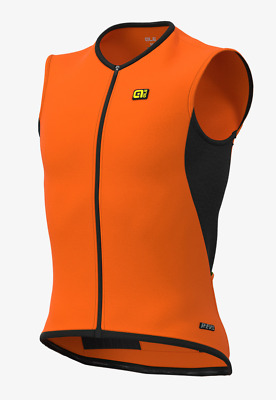Ale' Gilet Clima Protection 2.0 Thermo Arancio Fluo