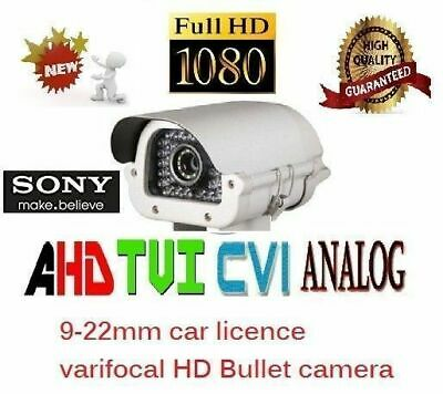 4 in 1 4MP License Plate Long Range CCTV Security Camera AHD TVI