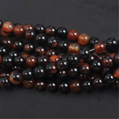 New Fashion Wholesale Natural Gemstone Round Spacer Loose Carnelian Beads 6MM