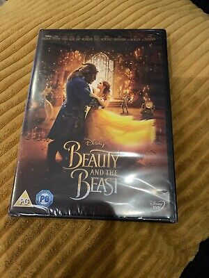 Beauty and The Beast (DVD, 2017) Disney