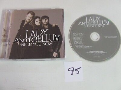 Lady Antebellum Need You Know CD NO Scratches or Marks  Excellent Condition