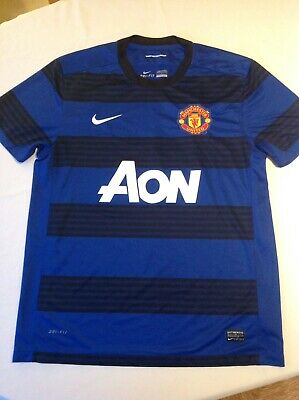 Manchester United Football Shirt ~ Adult Large ~ Away 3Rd Kit ~ Nike ~ 2010/2011
