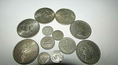 South African Coins including  4 Silver Rands