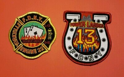 New York City Fire Department Patches E-22/L-13