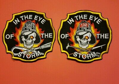 New York City Fire Department Patches E-280/L-132