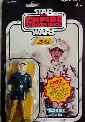 Vintage Star Wars 1980 Kenner Han Solo Hoth Outfit 39790 Empire Strikes Back 41