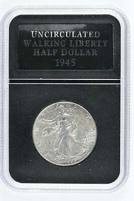 1945 Uncirculated Walking Liberty Half Dollar