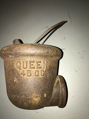 Queen 45CC Cast Iron Farm Well Pump Water Diverter Cup - Complete