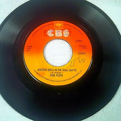 Pink Floyd – Another Brick In The Wall (Part II) CBS – 12245 COSTA RICA PRESS