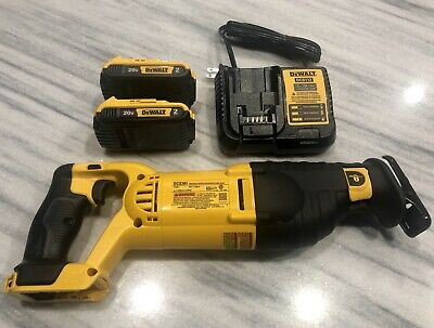 DeWALT DCS381 20V Reciprocating Saw With (2)2.0ah Batteries Charger  (LIMITED #)