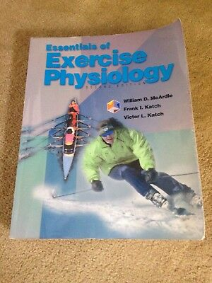 Essentials of Exercise Physiology (Text & Study Guide)-William D. McArdle, Fran