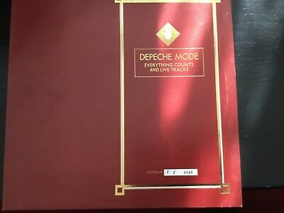 """DEPECHE MODE - Everything Counts LTD ED NUMBERED 12"""" VG CONDITION"""