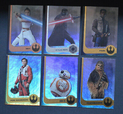 Journey To STAR WARS THE RISE OF SKYWALKER | select your > Limited Edition cards