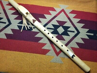 Native American style flute in the key of low D at 432hz