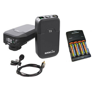 Rode Microphones RodeLink Wireless Filmmaker Kit w/ Batteries & Charger NEW