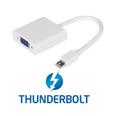Cablecc Thunderbolt 2 to VGA Female Cable for Monitor MacBook 2013 2014 2015