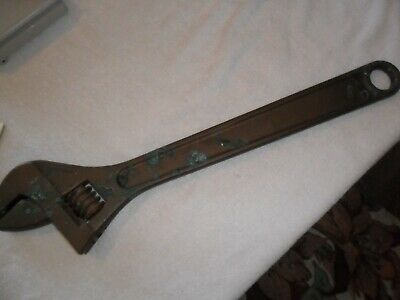 "2-5/8"""" Jaw Capacity, 24"" Nonsparking Adjustable Wrench  Aluminum Bronze"