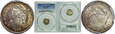 1836 Bust Half Dime PCGS MS-63 Small 5c