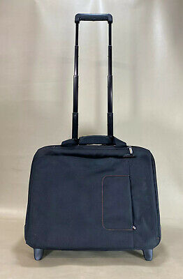 "Briggs & Riley Verb Roam Black 18"" Wheeled Rolling Laptop BriefCase ~ VBR460"
