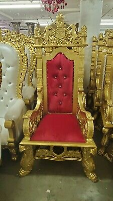 Swell Diana Queen King High Back Royal Wedding Party Throne Chair Gamerscity Chair Design For Home Gamerscityorg