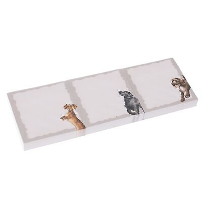 Wrendale Designs A Dogs Life Sticky Note Trio - Fur Feathers and Whiskers Pads
