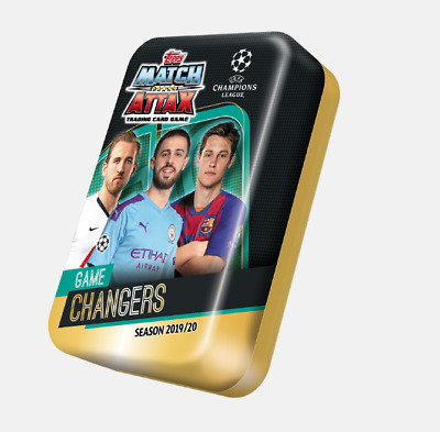 Mega Tins - Match Attax 2019/2020_Game Changers Brand New & Sealed
