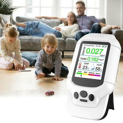 Air Quality Monitor Versatile Formaldehyde Detector Temperature Humidity Meter