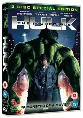 THE INCREDIBLE HULK - 2 disc edition - DISC ONLY {DVD}
