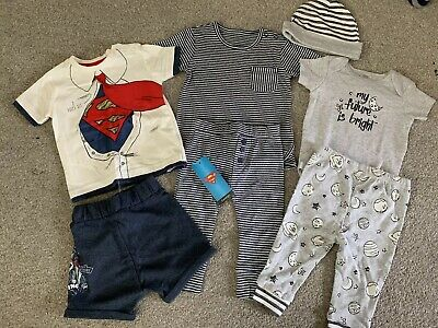 Baby Boys 3-6 Months Outfits Tracksuits Clothes Bundle Som Bnwt