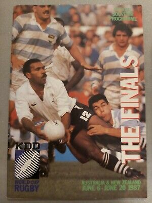 Rugby World Cup 1987 Finals in New Zealand & Australia programme