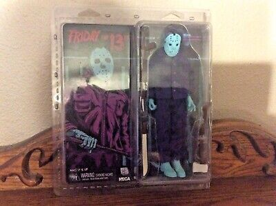 Neca Reel toys Friday the 13th Nes Jason Voorhees Purple jumpsuit!