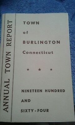 Burlington CT Annual Town Report 1964