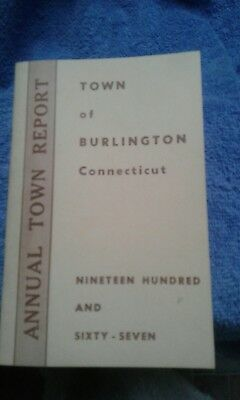 Burlington CT Annual Town Report 1967