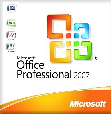 Microsoft Office 2007 Professional Full Version Life Time 5 PCs Quick Delivery
