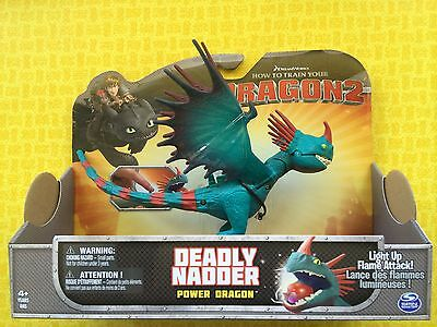 How To Train Your Dragon 2 Deadly Nadder Stormfly Large Power Dragon Figure
