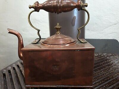 Victorian Railways/Queen Victoria Square Copper Kettle.