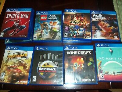 playstation 4 games ps4 god of war spiderman nba 2k20 madden nfl 20 others