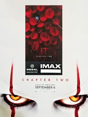 It Movie Chapter 2 IMAX Regal Collectible Ticket & Mini Poster! 5 Out Of 1,000!