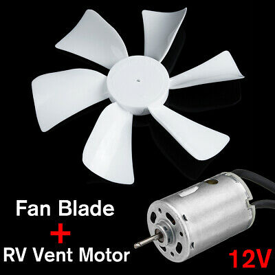 Vent Fan Blade With 12v D Shaft Rv