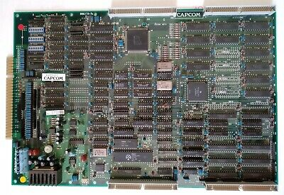 (Graphic Issue) Cps1 Mainboard. Original Pcb Board Arcade Jamma